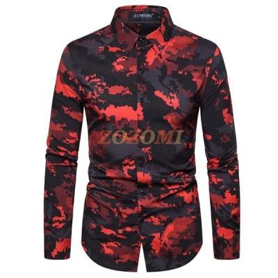 カジュアルシャツ メンズ ボタンダウン 長袖 メンズ シャツ ビジネス 開襟シャツ メンズシャツ 夏物 春物 30代 40代 メンズ用