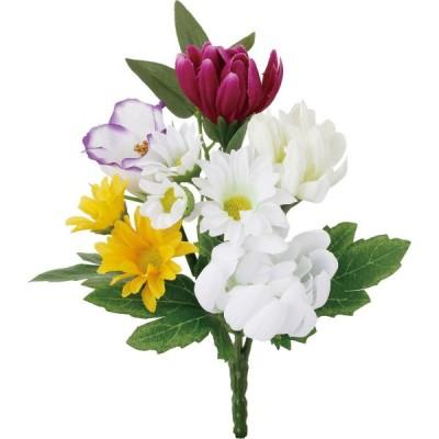 造花 YDM ミニマムミックスブッシュ ミックス FP-0873-MIX 造花 花材「か行」 キク 菊  ピンポンマム