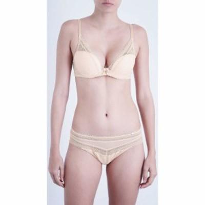 シャントル CHANTELLE レディース ブラジャーのみ Tシャツブラ インナー・下着 Festivit lace plunge T-shirt bra GOLDEN BEIGE
