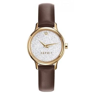 エスプリ 腕時計 レディースウォッチ Esprit Watch TP10928 Brown - ES109282002-Brown - calfskin-Round - 28 mm