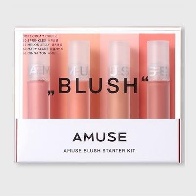 AMUSE Blush Starter Kit 4items