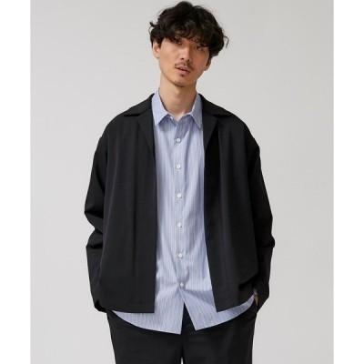 ジャケット テーラードジャケット 【STUDIOUS】1mile Shirt jacket