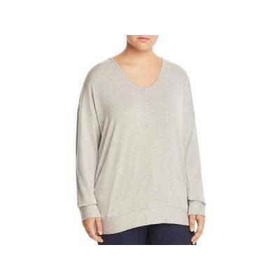 レディース 衣類 トップス Elan Womens Plus Open Back Long Sleeves Blouse ブラウス&シャツ