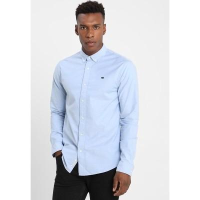 スコッチアンドソーダ シャツ メンズ トップス REGULAR FIT OXFORD SHIRT WITH STRETCH - Shirt - blue