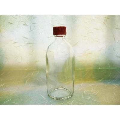 ガラス瓶 透明瓶 BG100 中栓付