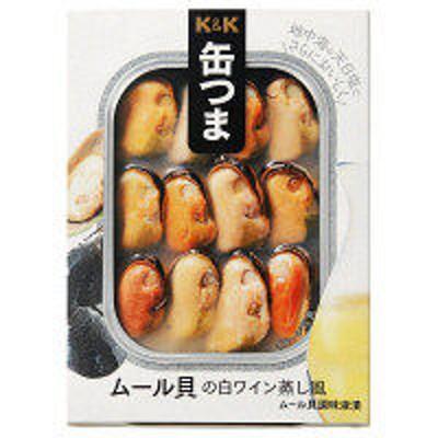 国分グループ本社国分グループ本社 KK 缶つまR ムール貝の白ワイン蒸し風 1個