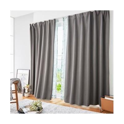 【送料無料!】深い色合いとざっくりした生地感がおしゃれな1級遮光カーテン ドレープカーテン(遮光あり・なし) Curtains, blackout curtains, thermal curtains, Drape(ニッセン、nissen)
