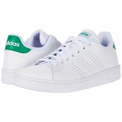 アディダス adidas レディース スニーカー シューズ・靴 Advantage White/White/Green