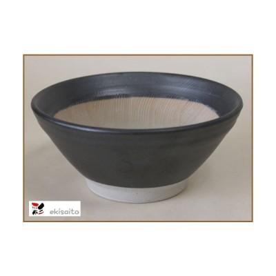 すり鉢 波紋 5号 粋な黒 (15.0cm) 国産 キッチン用品 食器 調理器具 スリ鉢