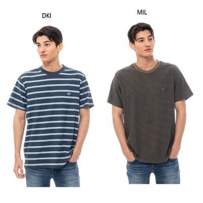 ビラボン メンズ ダイカット ストライプ ショートスリーブクルー DIE CUT STP SS CREW Tシャツ 半袖Tシャツ トップス BA011308