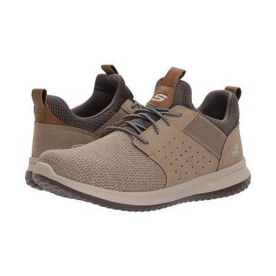 SKECHERS スケッチャーズ メンズ 男性用 シューズ 靴 スニーカー 運動靴 Classic Fit Delson Camben - Taupe