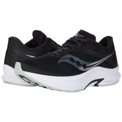 Saucony サッカニー メンズ 男性用 シューズ 靴 スニーカー 運動靴 Axon Black/White【送料無料】