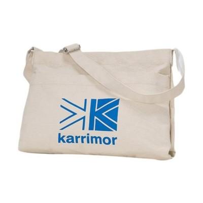 カリマー(karrimor) コットンショルダー cotton shoulder K.ブルー Logo 92254 ショルダーバッグ 斜め掛けバッグ アウトドア カジュアル