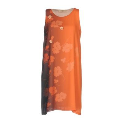 ジャスト・フォー・ユー JUST FOR YOU ミニワンピース&ドレス オレンジ L ポリエステル 100% ミニワンピース&ドレス