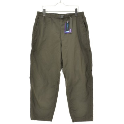 THE NORTH FACE PURPLE LABEL / ノースフェイスパープルレーベル 20AW NT5052N Stretch Twill Wide Tapered Pants ストレッチツイル ワイドテーパード パンツ