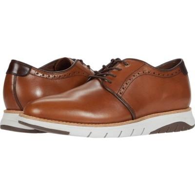 ジョンストンアンドマーフィー J&M Collection メンズ シューズ・靴 Vaughn Plain Toe Cognac