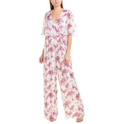 レイチェル ゾー ワンピース トップス レディース Rachel Zoe Gwen Silk-Blend Jumpsuit white combo