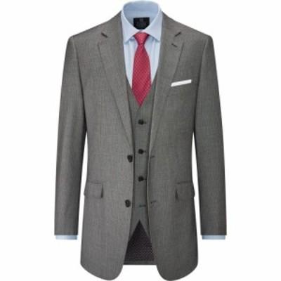 スコープス Skopes メンズ スーツ・ジャケット アウター Pedley Stripe Suit Jacket Grey