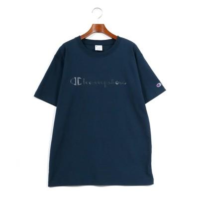 tシャツ Tシャツ 【Champion】 ヘビーウェイト 同色ロゴ クルーネックTシャツ