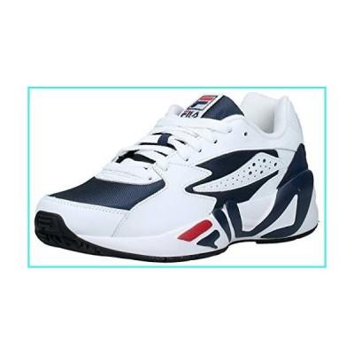 【新品】Fila Men's Mindblower Sneakers, White/Black, 9.5 M US(並行輸入品)