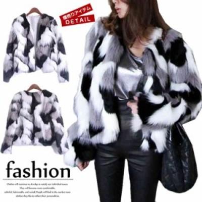 コート レディース 2018冬 40代 毛皮 コート ファーコート 韓国風 エコファー コート 大きいサイズ 毛皮 コート 暖か