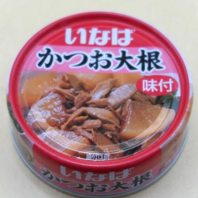 いなば食品 かつお大根味付 惣菜缶詰 100g