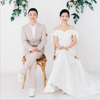 Aラインドレス ロングドレス ウェティグドレス 結婚式 パーティードレス 安い 大きいサイズ 発表会 二次会 海外挙式 花嫁 ドレス おしゃれ トレーン