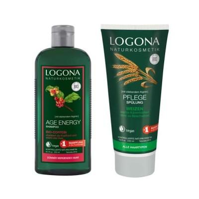 ロゴナ(LOGONA) 日本正規輸入品エイジエナジーシャンプーセット <数量限定> その他セット シャンプー+コンディショナー