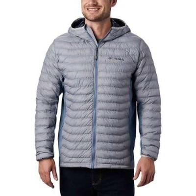 コロンビア メンズ ジャケット・ブルゾン アウター Columbia Men's Powder Pass Hooded Jacket Columbia Grey Heather/Mountain