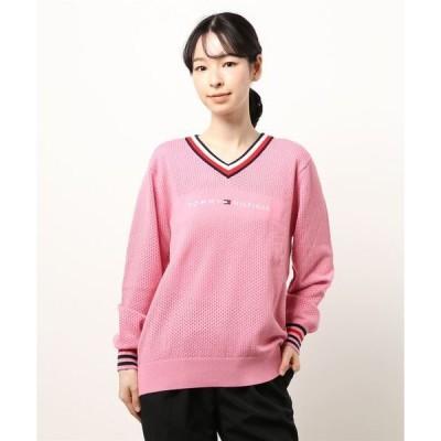 ニット TH LOGO V NECK セーター