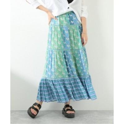 ジャーナルスタンダード(レディース)(JOURNAL STANDARD LADY'S)/レディススカート(【SARA MALLIKA/サラマリカ】FLOWER PRINT GATH…
