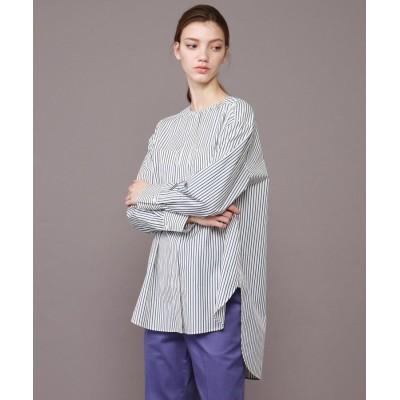 DRESSTERIOR(Ladies)(ドレステリア(レディース)) カラーストライプシャツ
