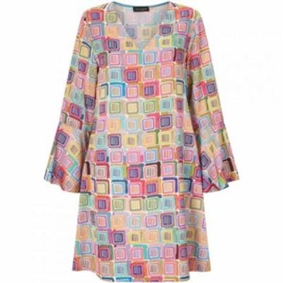 ジュームズ レイクランド James Lakeland レディース ワンピース ワンピース・ドレス Print Bell Sleeve Dress Pink