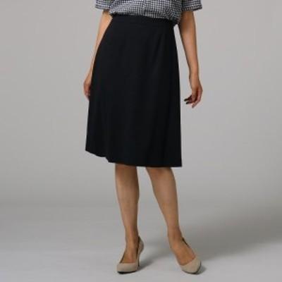 アンタイトル(UNTITLED)/[L]【洗える・抗菌防臭】ウール混ストレッチタイトスカート