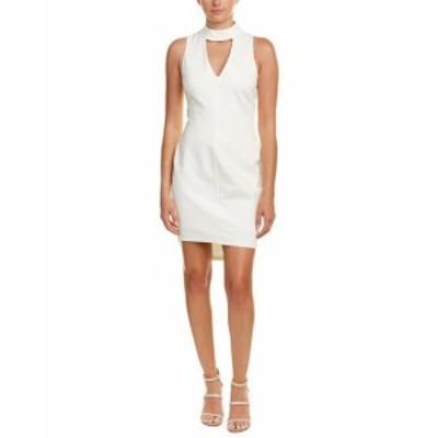 Adelyn Rae アデリーレイ ファッション ドレス Adelyn Rae Sheath Dress S White