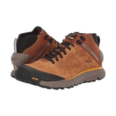 "Danner ダナー メンズ 男性用 シューズ 靴 ブーツ ハイキングブーツ 4"" Trail 2650 Mid GTX - Brown/Gold"