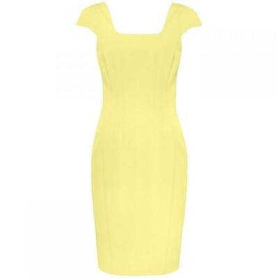 ダンセル Damsel in a Dress レディース ワンピース ワンピース・ドレス Sheridan Fitted Dress Yellow