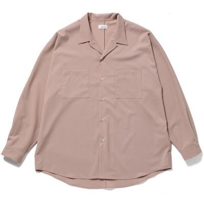 【ジュンレッド】 ドライタッチドルマンルーズシャツ メンズ ピンク L JUNRed