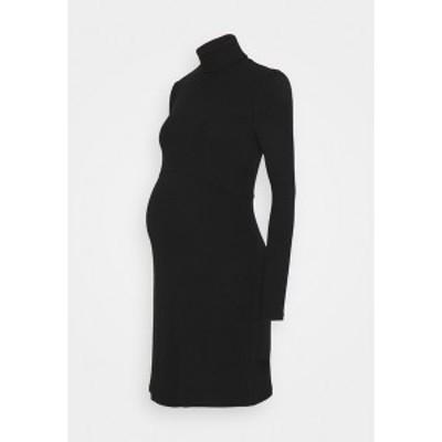 グラマラス ブルーム レディース ワンピース トップス LADIES  - Jersey dress - black black