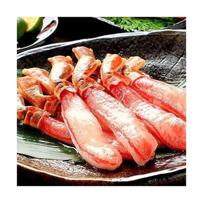 海夢 ズワイガニ ポーション 生 大サイズ むき身 鮮度抜群 生食用 刺身 かにしゃぶ バター焼き カニ ずわい蟹 棒ポーション 約500g