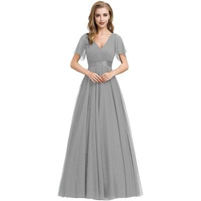 Ever-Pretty ロングドレス 演奏会 イブニングドレス ever pretty パーティードレス ブライズメイド ドレス
