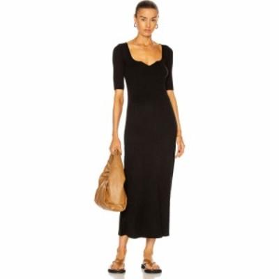 LOULOU スタジオ Loulou Studio レディース ワンピース ワンピース・ドレス Chetlat Knit Dress Black