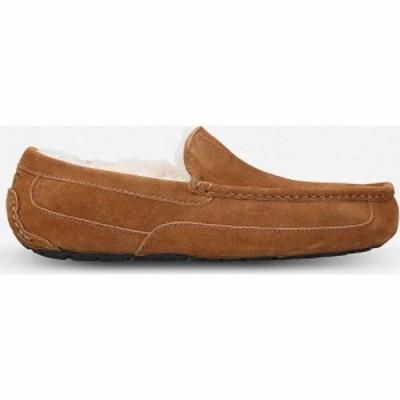 アグ UGG メンズ スリッパ シューズ・靴 Ascot suede loafers BROWN