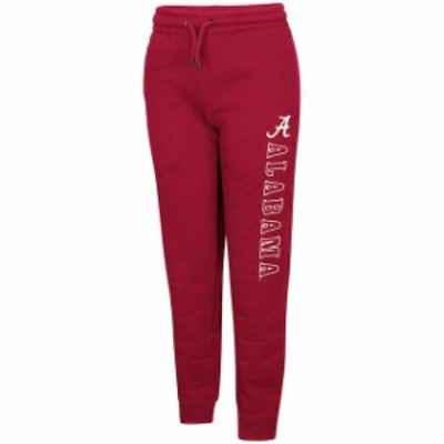 Colosseum コロセウム スポーツ用品  Colosseum Alabama Crimson Tide Youth Crimson Walk the Walk Jogger Pants