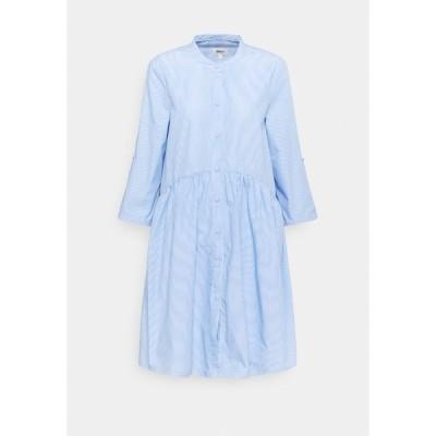 オンリー トール ワンピース レディース トップス ONLCHICAGO LIFE STRIPE  - Day dress - white/blue