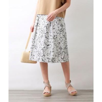 スカート 【Precious Collection】AUGUST ROSE EMBROIDERYスカート