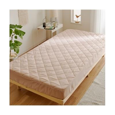 吸汗速乾・ボックスシーツ一体型ベッドパッド 敷きパッド・敷パッド, ベッドパッド, Bed pats(ニッセン、nissen)