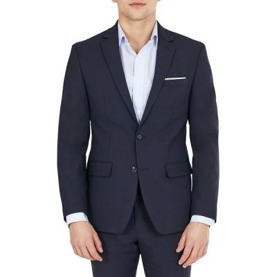 バースリー ジャケット&ブルゾン アウター メンズ Men's Solid Skinny Fit Wool Suit Separate Jacket, Created for Macy's Navy