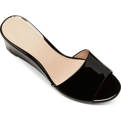 ケイト スペード kate spade new york レディース サンダル・ミュール ウェッジソール シューズ・靴 Willow Wedge Sandals Black