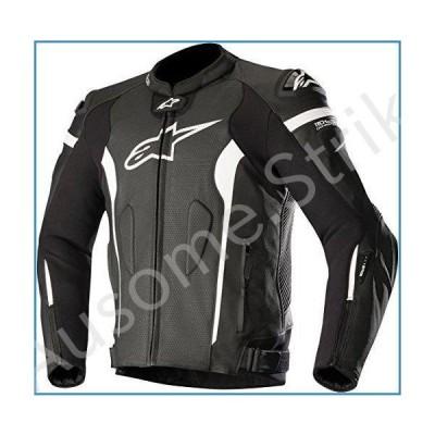 alpinestars(アルパインスターズ)バイクジャケット ブラックホワイト (サイズ:48) MISSILE(ミサイル)レザージャケット